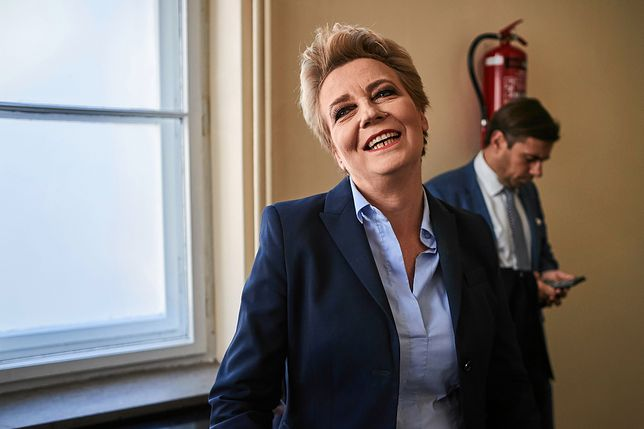 Hanna Zdanowska została skazana za poświadczenie nieprawdy w dokumentach w celu uzyskania kredytu przez jej partnera