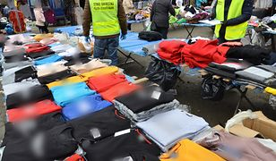 Bielawa. Podróbki warte ponad 209 tys. zł. Straż Graniczna zarekwirowała nielegalną odzież
