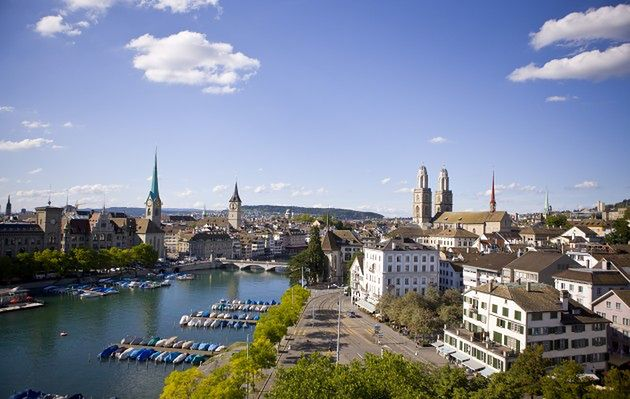 Wakacje w Zurychu