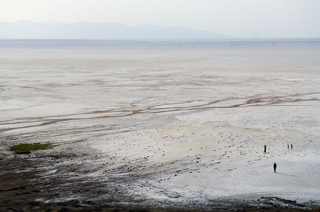 Jezioro Urmia wysycha