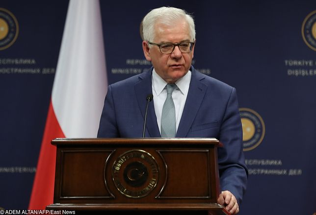Minister spraw zagranicznych prof. Jacek Czaputowicz negatywnie ocenia amerykańską ustawę
