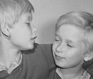 Dzieciństwo braci Kaczyńskich