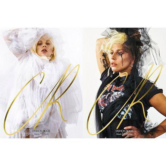 Lady Gaga jako alternatywna panna młoda w CR Fashion Book