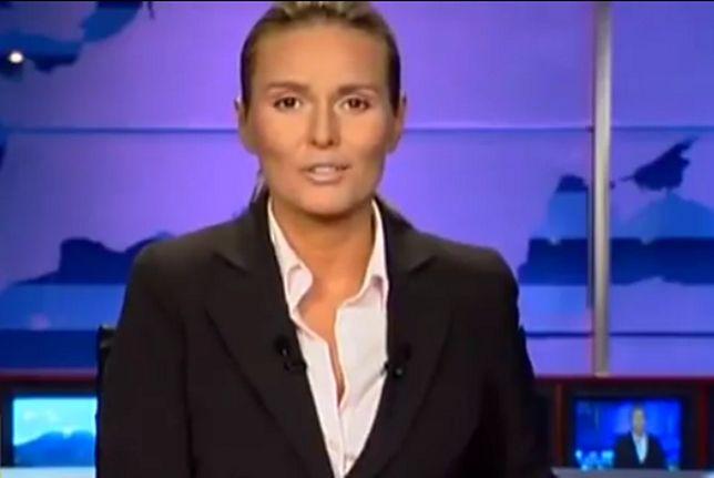 """14 lat temu Hanna Lis poprowadziła pierwsze """"Wydarzenia"""" Polsatu"""