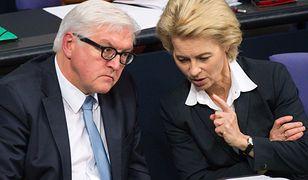 Minister Obrony Niemiec, Ursula von der Leyen (na zdj. z prawej).