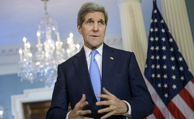 Kerry: naciskałem na Ławrowa ws. rozejmu na Ukrainie