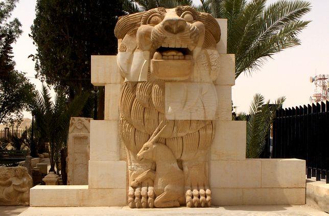 Zniszczone skarby Syrii - Palmyra