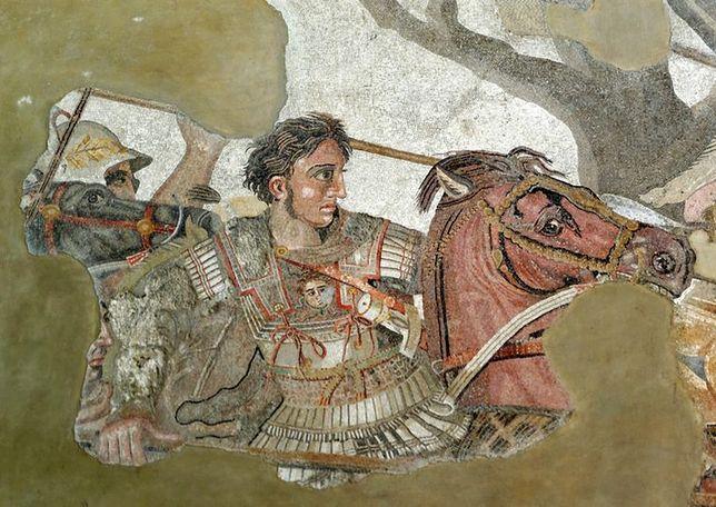 Mozaika z wizerunkiem Aleksandra Wielkiego
