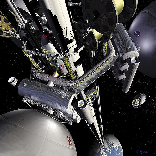 Koncepcja kosmicznej windy pojawiła się już ponad 10 lat temu