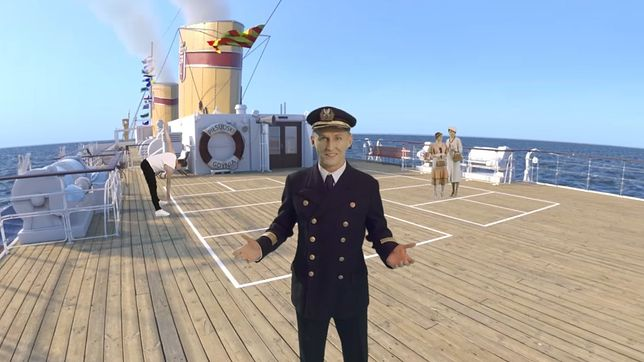 """Każdy będzie mógł """"wejść"""" na pokład statku"""