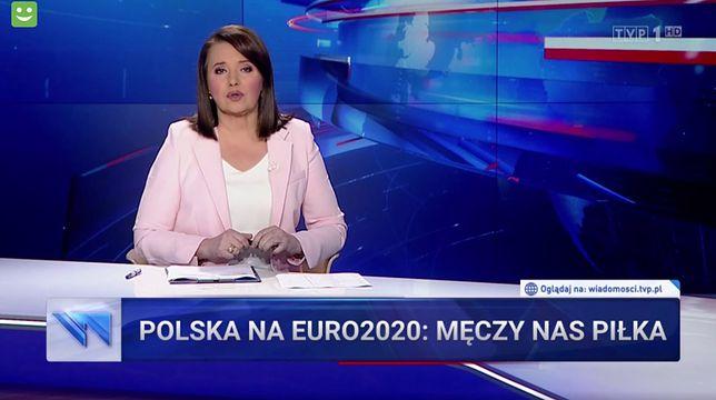 Danuta Holecka nie kryła rozczarowania słabą grą Polaków