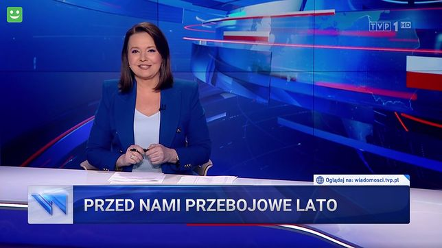Danuta Holecka zapowiedziała materiał o koncertach, w którym znalazła się laurka dla prezydenta Dudy