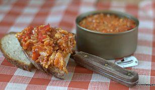 sałatka z ryby i ryżu
