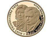 Mennica Polska wybiła złotą monetę z wizerunkiem śp. pary prezydenckiej