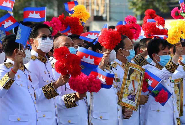 Dzień Niepodległości w Kambodży w listopadzie 2020 r.
