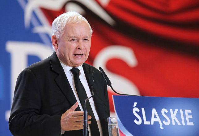 Jarosław Kaczyński odwiedził Katowice. Padły mocne słowa