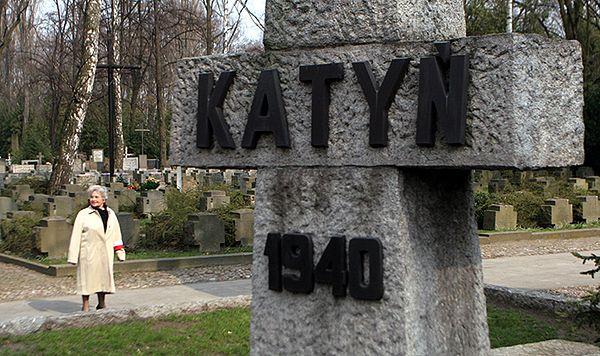 Krzyż upamiętniający Zbrodnię Katyńską