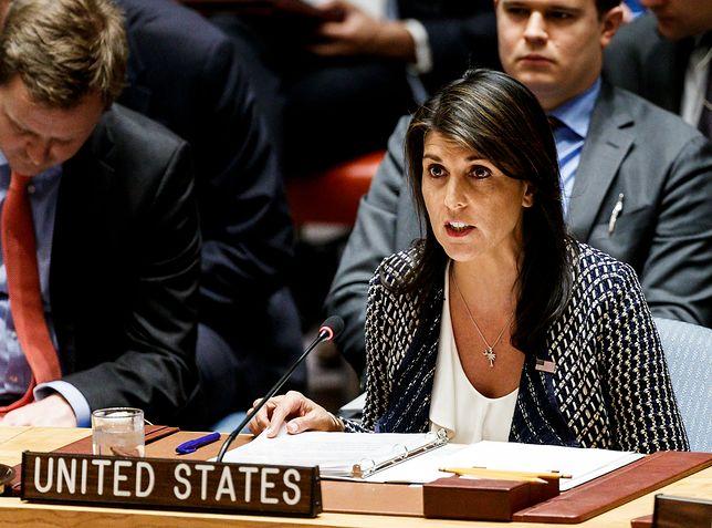 Ambasador USA przy ONZ oświadczyła, że atak USA był pociągnięciem syryjskiego reżimu do odpowiedzialności