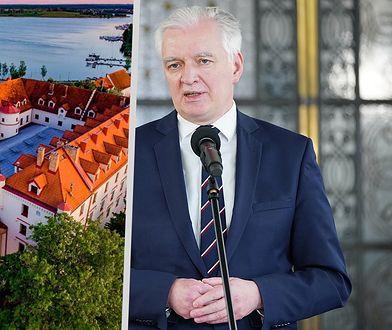 Porozumienie w Zamku Ryn. Jarosław Gowin integruje się z posłami