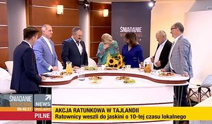 Beata Lubecka żegna się z widzami Polsat News. Dostała kwiaty od ministra