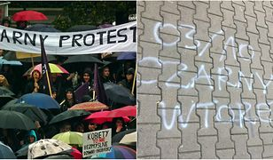 We wtorek 3 paźdzernika odbywa się kolejny Czarny Protest.