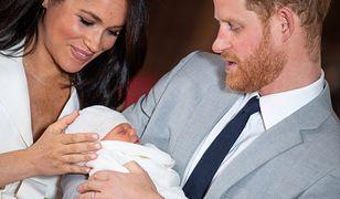 Księżna Meghan i książę Harry pokazali synka