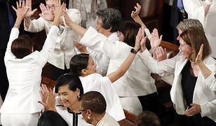 Amerykańskie kongresmenki ubrały się na biało. To symbol