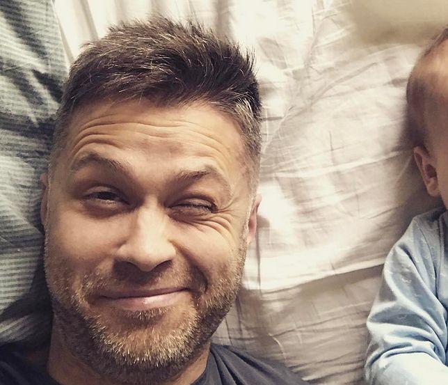 Maciej Zakościelny wrzucił słodkie zdjęcie z synkiem. Fotka rozczuliła internautów