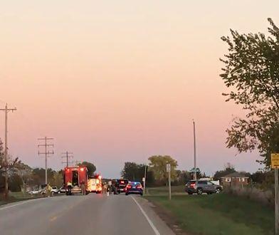Samolot zderzył się z pick-upem. Pilot nie przeżył
