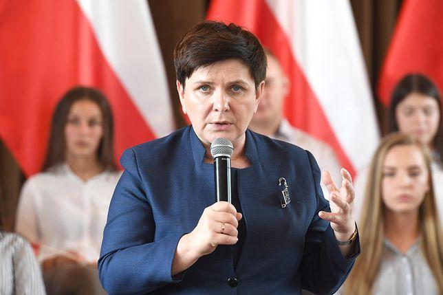 """Beata Szydło uderza w kolegów z partii. Zdenerwowały ją """"ploteczki"""" o Kaczyńskim"""
