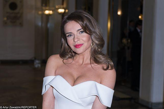 """Edyta Herbuś jest aktorką serialu """"Pierwsza miłość""""."""