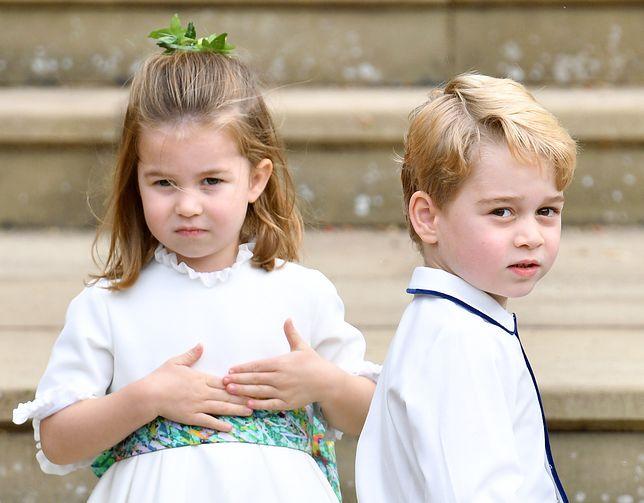 Księżniczka Charlotte i książę George są uczniami prestiżowej szkoły prywatnej