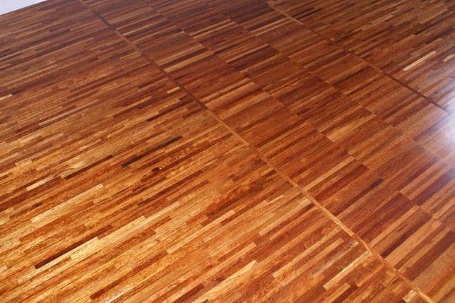 Podłoga drewniana z parkietu przemysłowego