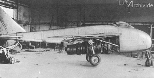Messerschmitt P.1101 - konstrukcja która zmieniła oblicze lotnictwa!