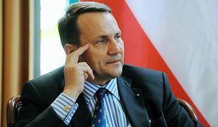Sikorski: sankcje wobec Rosji odbiją się na UE