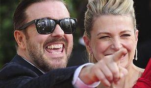 Ricky Gervais lubi swój pracoholizm