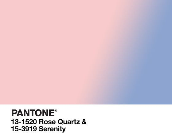 Kolory roku 2016: Rose Quartz i Serenity