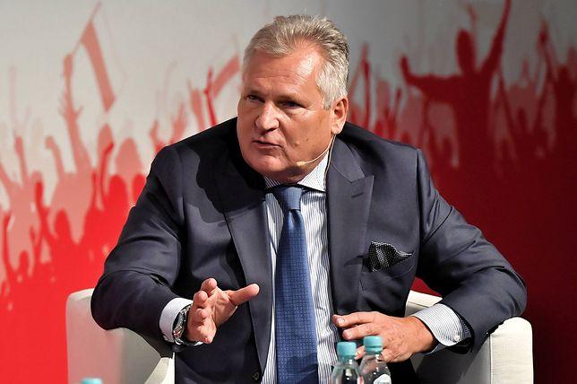 Aleksander Kwaśniewski umniejsza rolę liderów Koalicji Europejskiej