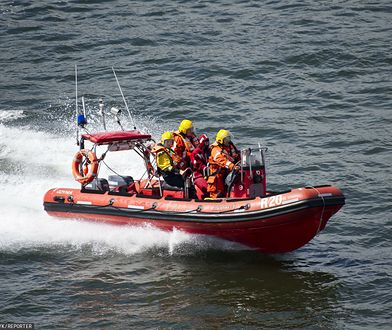 Ustka. Akcja na Morzu Bałtyckim. Na pomoc ruszyły dwie łodzie