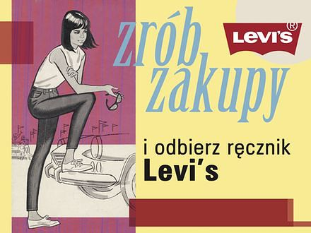 Zgarnij ręcznik Levi's!