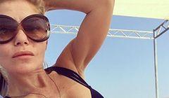 Ewa Szabatin w bikini na Malediwach