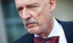 """Janusz Korwin-Mikke podpisał się pod projektem obywatelskim """"Jest ryzyko, musi być wybór"""". Wobec dzieci podjął inną decyzję"""