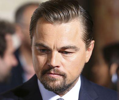 Leonardo Di Caprio śledził wieczór wyborczy w USA. Towarzyszyli mu znajomi