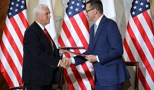Morawiecki i Pence podpisali Wspólną Deklarację USA i Polski na temat 5G