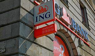 Placówka ING Banku Śląskiego.