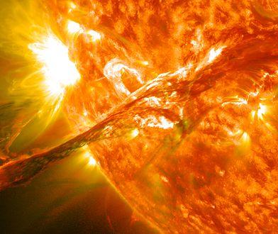 Burza słoneczna może spowodować chaos