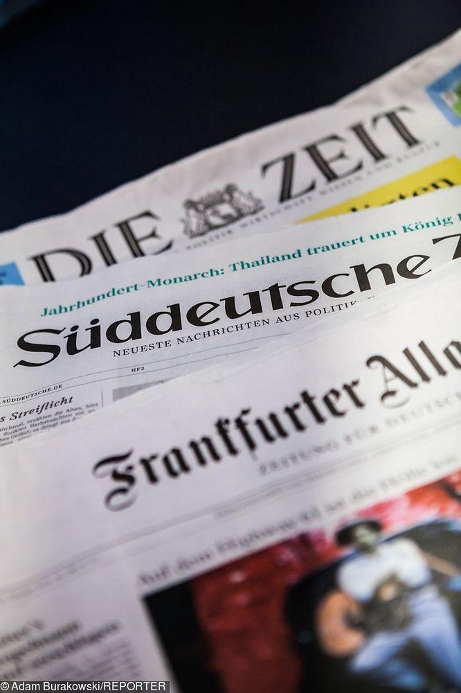 Media w Niemczech. Dzienniki nie są w rękach obcego kapitału