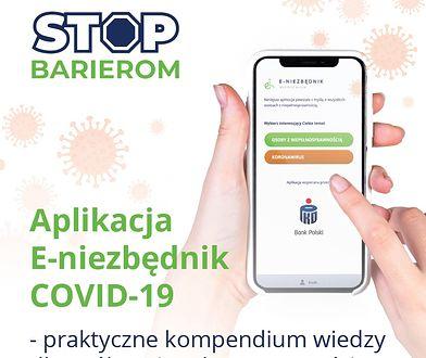 Aplikacja ,,E-niezbędnik COVID-19'' – z myślą o osobach z niepełnosprawnością