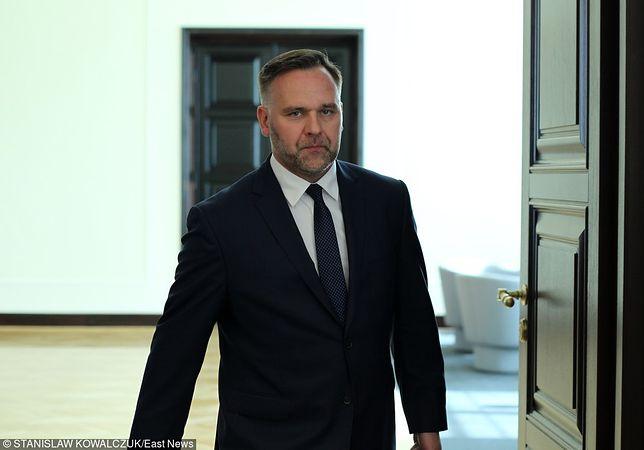 Były minister skarbu Dawid Jackiewicz zapowiedział, że nagrodę zwróci