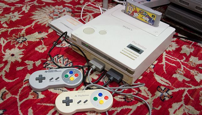 Konsola Nintendo PlayStation. To nie żart